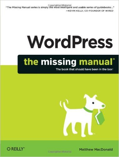 WP missing manual