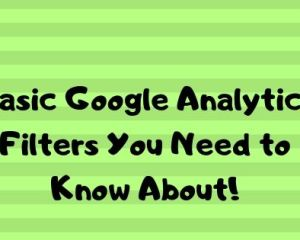 Basic Google analytics filters