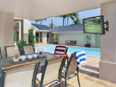 outdoor television outdoor tv Auckland New Zealand