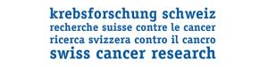 Logo Stiftung Krebsforschung Schweiz