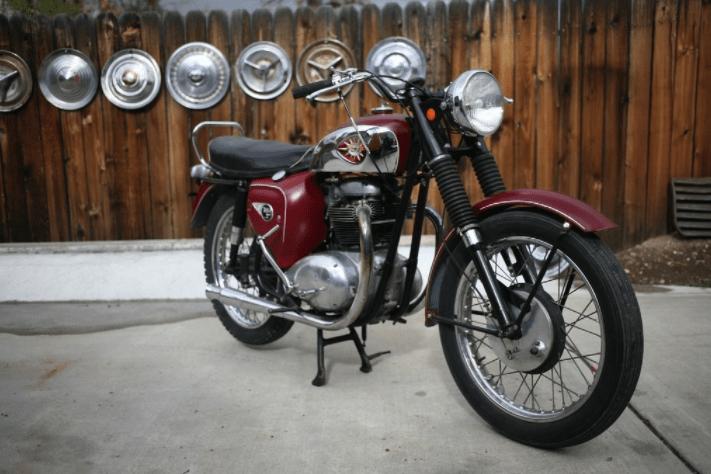 BSA Motor Cycle Developed by Jawa's Company
