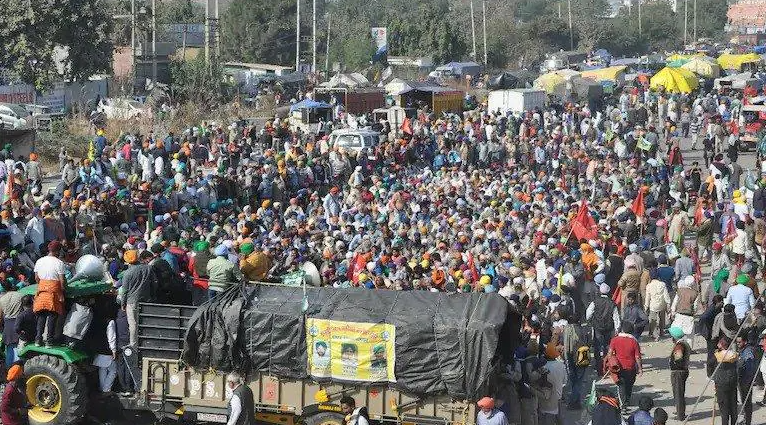 """Thousands Of Haryana Farmers To Mark """"Black Day"""" In Delhi: Outline"""