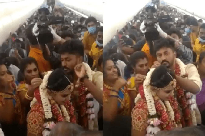 TN Couple Books Leased Flight For Wedding, Defy Covid Rules