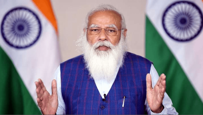 Modi Declares Welfares To Children For Covid