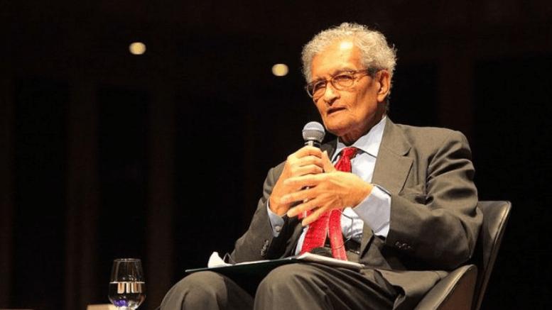Amartya Sen Blame Centre Schizophreni For Covid