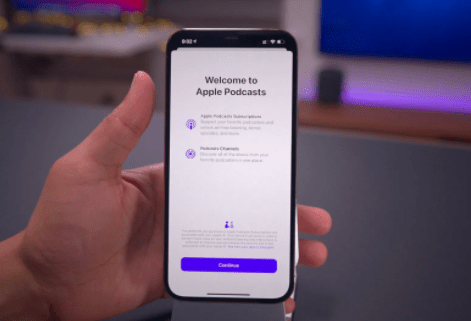 Apple Podcasts Subscription Service Launch