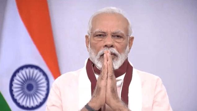 PM Modi Ready To Address The Nation At 5 PM
