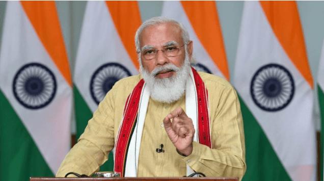 Modi Addresses CoWIN Global Conclave