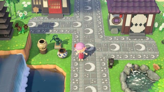 Animal Crossing: New Horizons New Tiles, Streets, Wood ... on Animal Crossing New Horizons Wood Design  id=76766