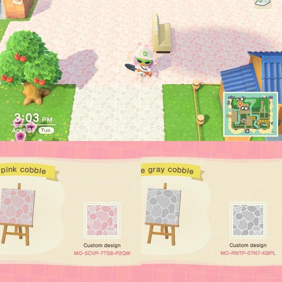 Animal Crossing: New Horizons New Tiles, Streets, Wood ... on Animal Crossing New Horizons Wood Design  id=74762
