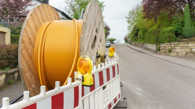 Fibre-optic cables will bring superfast broadband to the public and private sector