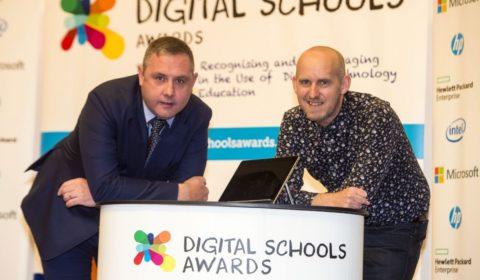 Digital Schools Awards - David Hogg, Steven Grier