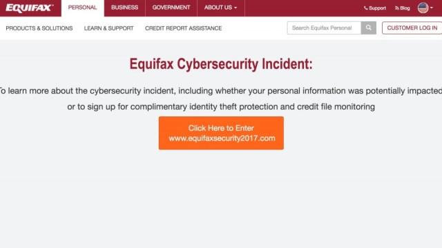 Equifax Hack: Cybersecurity Alert