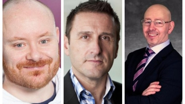 Three leading voices in CISO - Stu Hirst, Phil Cracknell and Steve Gibson