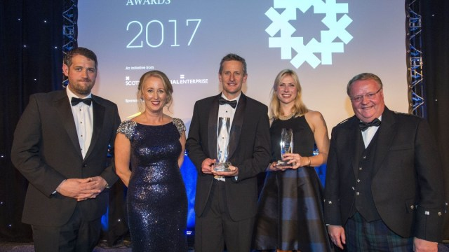Scottish Financial Services Awards Winner