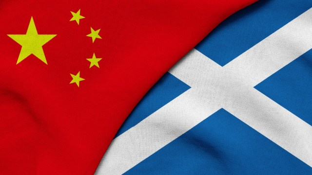 china scotland flag