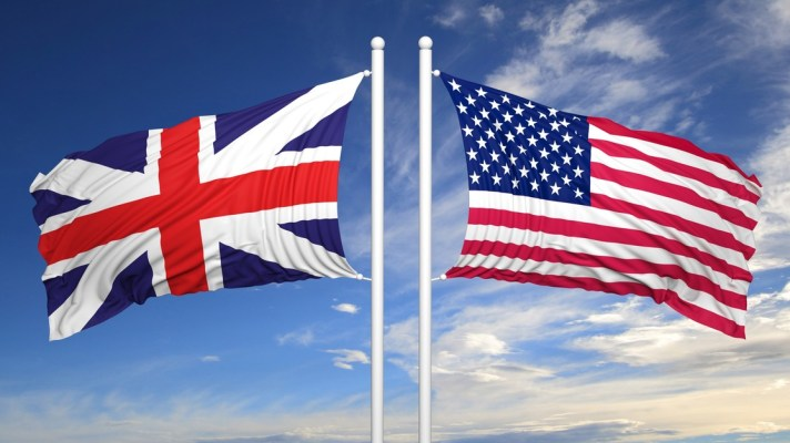 UK/US Flags