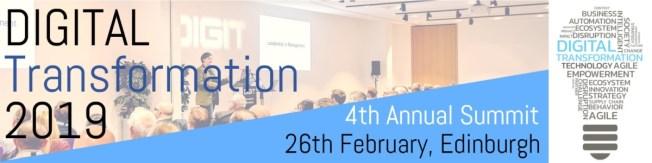 digital transformation 2019 banner