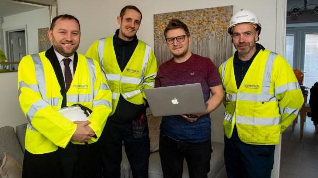 Openreach Ultrafast Broadband Edinburgh