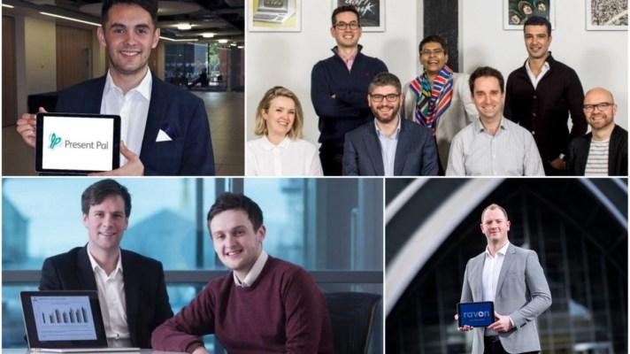 collage image of Scottish entrepreneurs