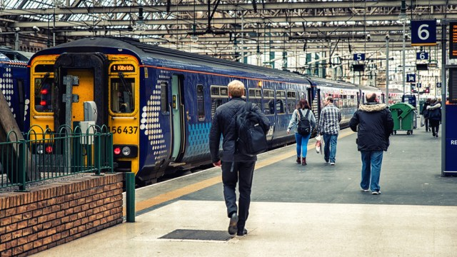 Glasgow Central train station