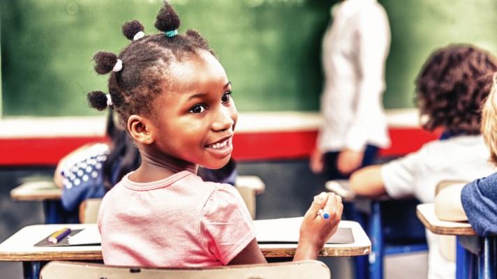 African school girl