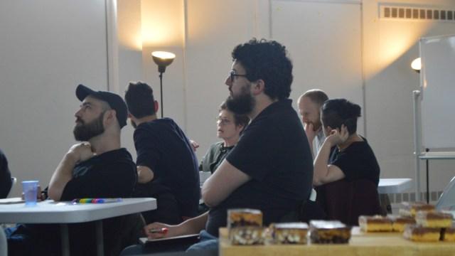Creative Bridge accelerator at CodeBase in Edinburgh cohort being taught