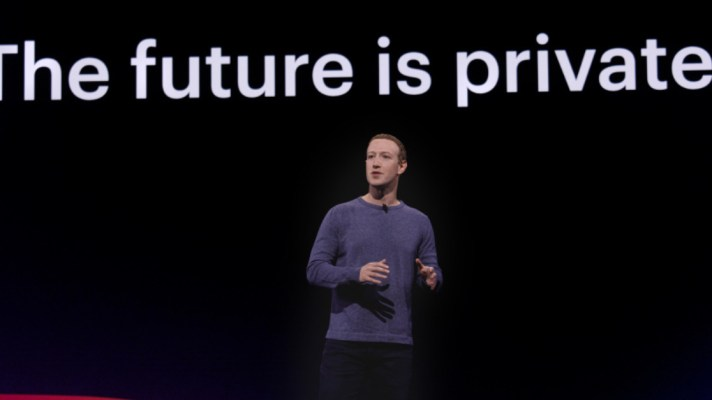 Facebook Private Mark Zuckerberg