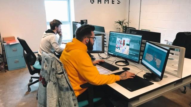 Handprint Games Office