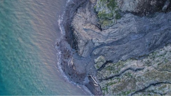 Drone Survey Arctic Erosion