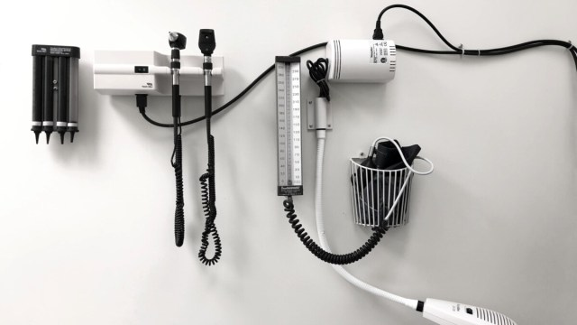 Home blood pressure test
