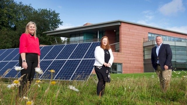 Dumfries and Galloway College green energy hub