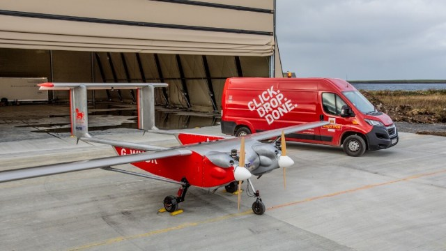Royal Mail drones