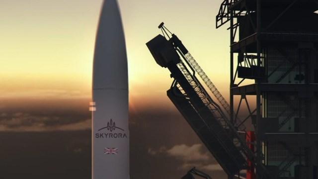 Skyrora Shetland spaceport
