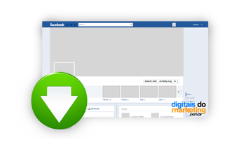 Download template nova timeline Facebook