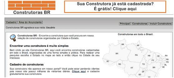 Sites de Construtora