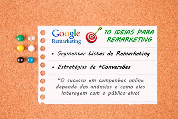 10 ideias para lista de remarketing