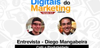 Entrevista com Diego Mangabeira sobre produtividade e café
