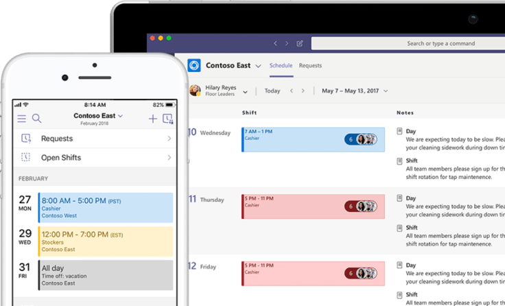 Microsoft Teams Home löst StaffHub 2019 ab | Wieso das gut ist! Screenshot Office 365 Staffhub Nachfolger Teams.