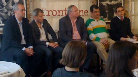 (l-r) Iain Dale, Alex Smith, Adam Boulton, Paul Staines, Matthew Macgregor