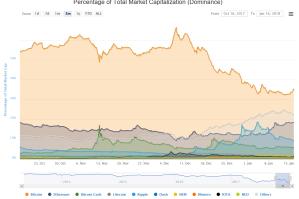 仮想通貨のシェア20180116