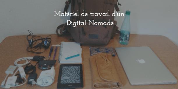 sac à dos de digital nomade