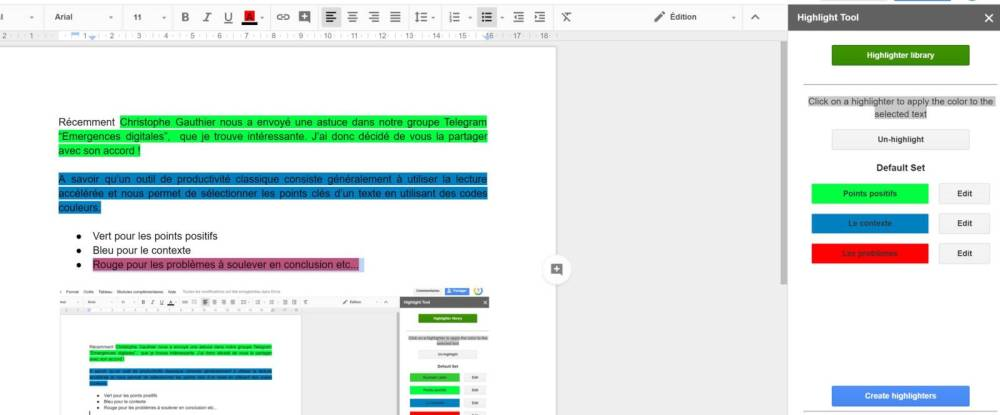ADD-ON GOOGLE DOCS