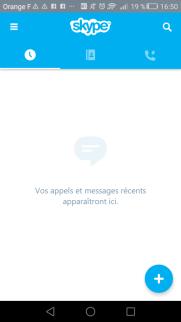 Visioconférence sur Skype et sur mobile