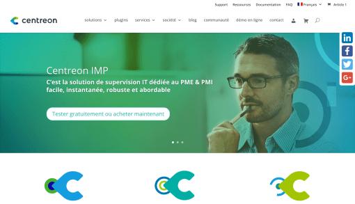 Centreon : Refonte d'un site de vente en ligne de licences