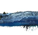 Digital Pointillism   Areal Photography to high res Point Cloud   Pilot Study Festvåg - Capturing Environment via UAV   Marc Ihle in Cooperation with GRID-IT Innsbruck   2018