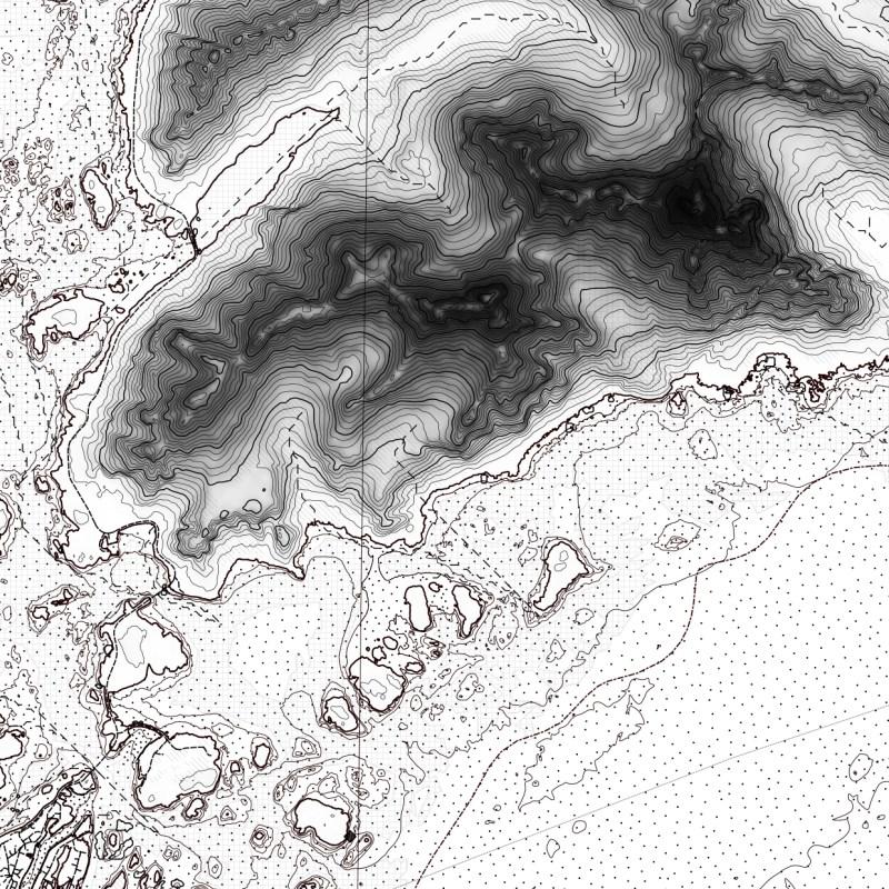 Map Lofoten | Area 60x40 km | Callout | Marc Ihle