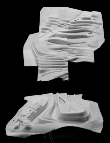 Model | 3d-printed Landscape | Master Design Course - Alpine Studio | 2015