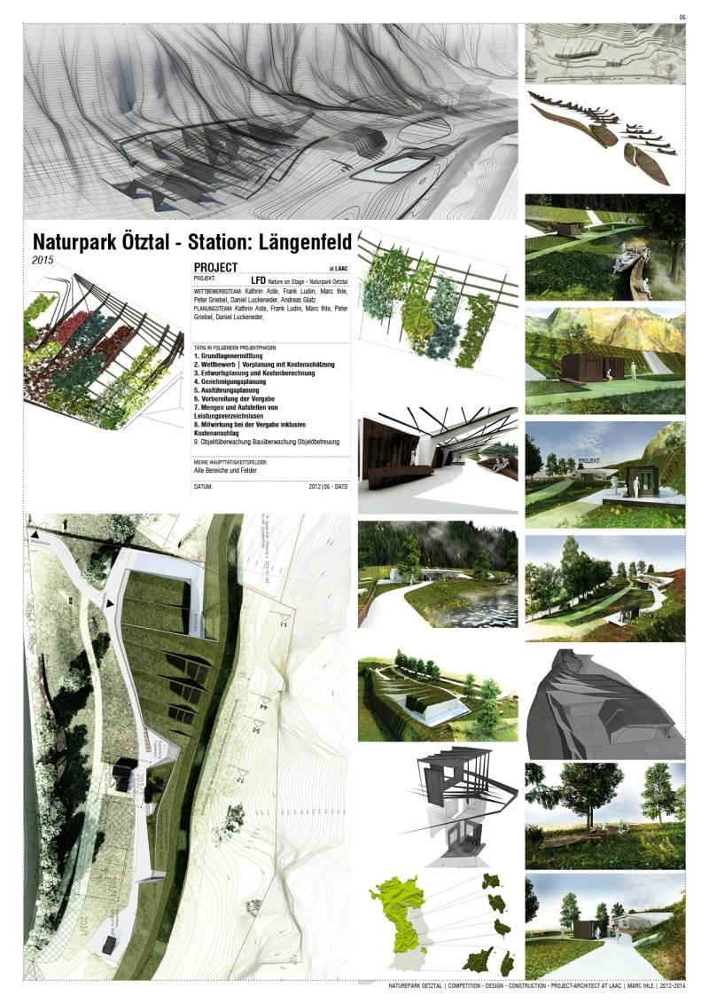 Project Team-Work at LAAC Architekten Innsbruck, Austria   2009 - 2015