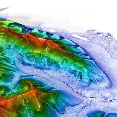 Arctic Terrain Sample of Svalbard | Digital Terrain Model and Information | 2019 | Marc Ihle